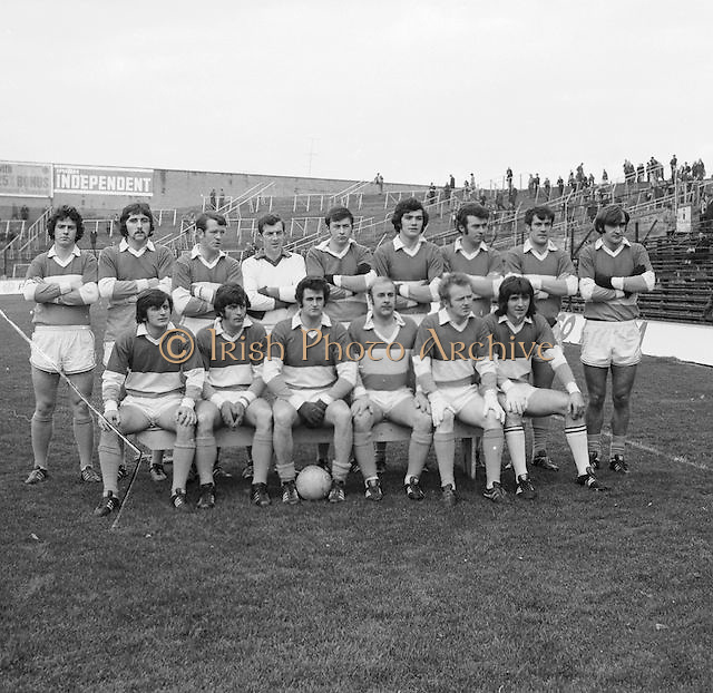Offaly team at the All Ireland Senior Gaelic Football Final, Donegal v Offaly in Croke Park on 24 September 1972.