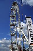The London Eye Millennium wheel, London, England