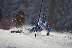 21.12.2011, Hermann Maier Weltcup Strecke, Flachau, AUT, FIS Weltcup Ski Alpin, Herren, Slalom 1. Durchgang, im Bild Naoki Yuasa (JPN) in Aktion // Naoki Yuasa of Japan in action during Slalom race 1st run of FIS Ski Alpine World Cup at 'Hermann Maier World Cup' course in Flachau, Austria on 2011/12/21. EXPA Pictures © 2011, PhotoCredit: EXPA/ Johann Groder