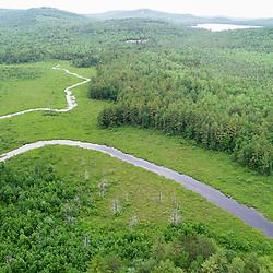 The Northwest River near Tiger Hill in Sebago, Maine.