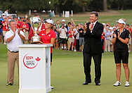 15 AUG 23  Canadian sensation Brooke Henderson congratulates Lydia Ko on 18 after the Final Round of The Canadian Pacific Women's Open at The Vancouver Golf Club in Coquitlam, British Columbia, Canada.(photo credit : kenneth e. dennis/kendennisphoto.com)