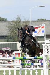 Van Asten Mathijs-Maestro<br />KWPN Paardendagen Ermelo 2000<br />Photo © Dirk Caremans