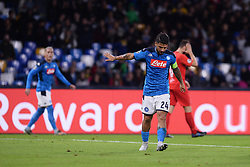 November 5, 2019, Napoli, Napoli, Italia: Foto Cafaro/LaPresse.5 Novembre 2019 Napoli, Italia.sport.calcio.SSC Napoli vs FC Salzburg - Uefa Champions League stagione 2019/20 Gruppo E, giornata 4 - stadio San Paolo.Nella foto: Lorenzo Insigne (SSC Napoli) deluso...Photo Cafaro/LaPresse.November 5, 2019 Naples, Italy.sport.soccer.SSC Napoli vs FC Salzburg - Uefa Champions League 2019/20 season Group E matchday 4 - San Paolo stadium.In the pic: Lorenzo Insigne (SSC Napoli) shows his disappointment. (Credit Image: © Cafaro/Lapresse via ZUMA Press)
