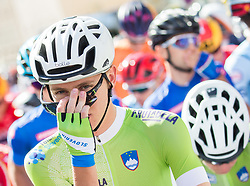 Tadej Pogacar of Slovenia during the Men Under 23 Road Race 179.9km Race from Kufstein to Innsbruck 582m at the 91st UCI Road World Championships 2018 / RR / RWC / on September 28, 2018 in Innsbruck, Austria.  Photo by Vid Ponikvar / Sportida