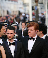 Tom Sturridge, Danny Morgan at the On The Road gala screening red carpet at the 65th Cannes Film Festival France. The film is based on the book of the same name by beat writer Jack Kerouak and directed by Walter Salles. Wednesday 23rd May 2012 in Cannes Film Festival, France.