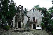 Church of Sveti Antun (Saint Anthony), Glavica Svetog Antuna (Hill of Saint Anthony). Korcula, island of Korcula, Croatia
