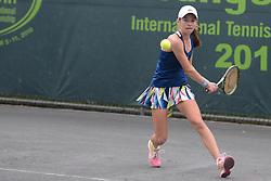 December 9, 2016 - Plantation, Florida, United States - KATIE VOLYNETS of the United States in the girls 16 and under final in the Metropolia Orange Bowl International Tennis Championship in Plantation Florida (Credit Image: © Christopher Levy via ZUMA Wire)