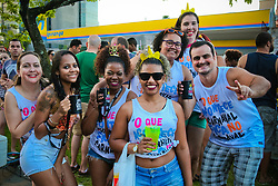 Carnaval de Rua de Porto Alegre no Bairro Cidade Baixa. FOTO: Marcos Nagelstein/Agência Preview