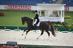 Böckmann Kristina, (FIN), Der Kleine Lord 16<br /> European Championship Aachen 2015 - Dressage<br /> © Hippo Foto - Stefan Lafrentz