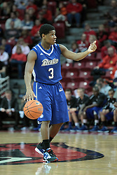 01 February 2014:  Richard Carter during an NCAA Missouri Valley Conference (MVC) mens basketball game between the Drake Bulldogs and the Illinois State Redbirds  in Redbird Arena, Normal IL.