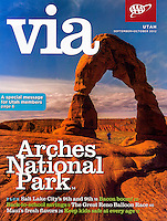 September/October 2012 cover of VIA Magazine.