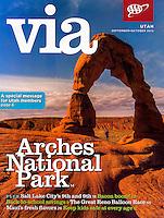 September/October 2012 cover of VIA Magazine.
