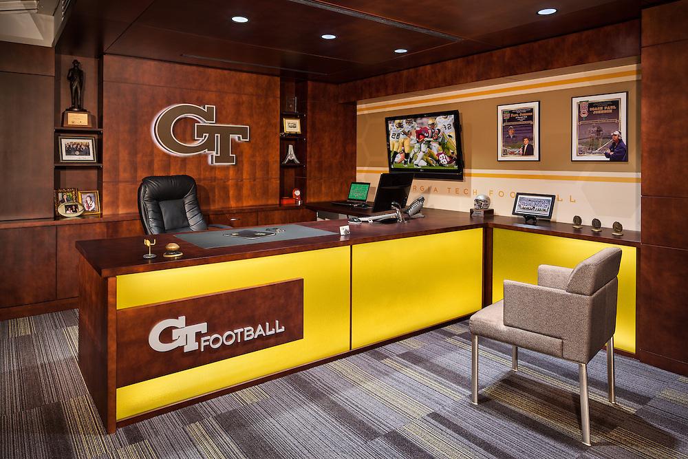 GA Tech Football Offices 05 - Atlanta, GA