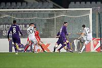 Il gol di Yevhen Shakhov Paok<br /> Goal Celebration Paok <br /> Firenze 24-11-2016  Stadio Artemio Franchi<br /> Europa League Fiorentina - Paok<br /> Foto Luca Pagliaricci / Insidefoto
