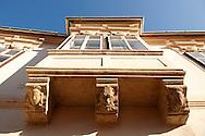 Copf style house Bay window - ( Gy?r )  Gyor Hungary