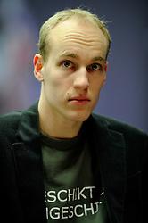 18-01-2010 SCHAKEN: CORUS CHESS 2010: WIJK AAN ZEE<br /> Derde ronde van het Corus Schaaktoernooi 2010 / Jan Smeets<br /> ©2010-WWW.FOTOHOOGENDOORN.NL