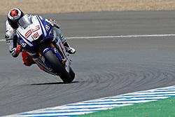 30.04.2010, Motomondiale, Jerez de la Frontera, ESP, MotoGP, Race, im Bild Jorge Lorenzo - Fiat Yamaha team .Foto Insidefoto