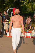 ALASTAIR LANKESTER;, CHARLES FINCH'S CHUCS SWIMATHON 2013, SERPENTINE, Hyde Park, London. 4 July 2013.