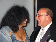 Diana Ross & Clive Davis.2003 Grammy BMG Post Party.Gotham Hall.Sunday, February 23, 2003..New York, NY, USA.Photo By Celebrityvibe.com/Photovibe.com..