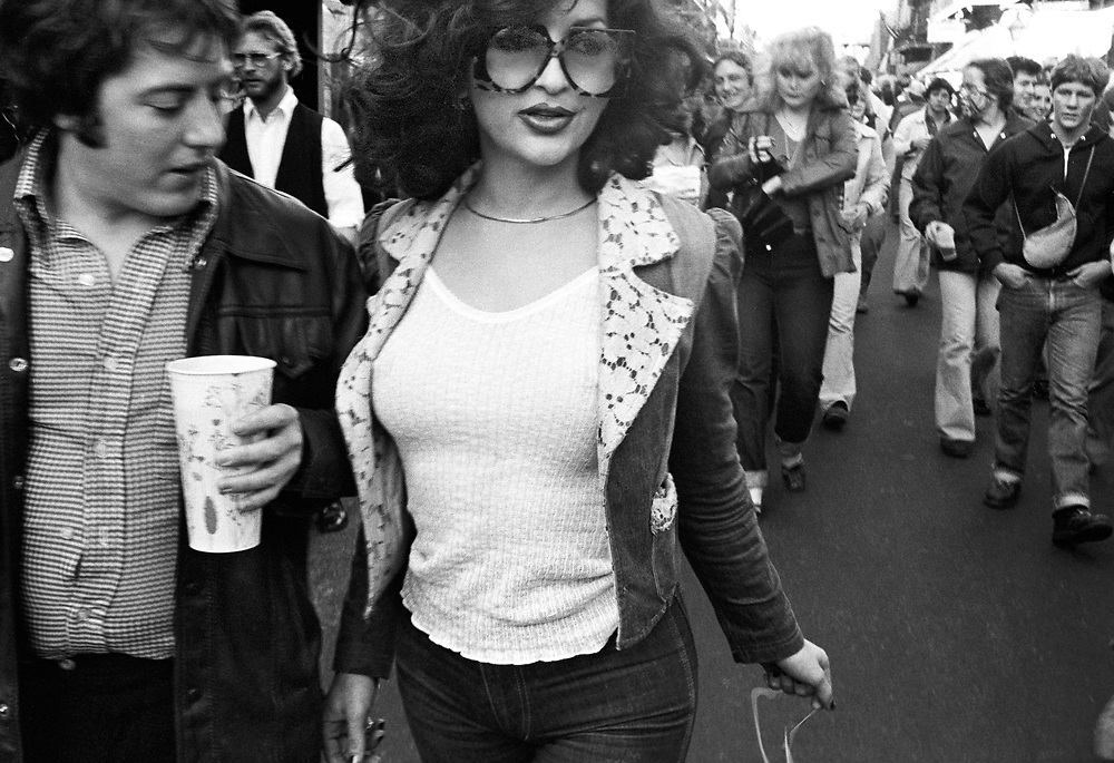 Vintage work, photographed at Mardi Gras in New Orleans French Quarter in 1979