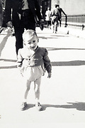 little child France ca 1950s