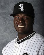 GLENDALE, AZ - MARCH 03: Leyson Septimo of the Chicago White Sox poses for his official team headshot during photo day on March 3, 2012 at The Ballpark at Camelback Ranch in Glendale, Arizona. (Photo by Ron Vesely)   Subject:   Leyson Septimo