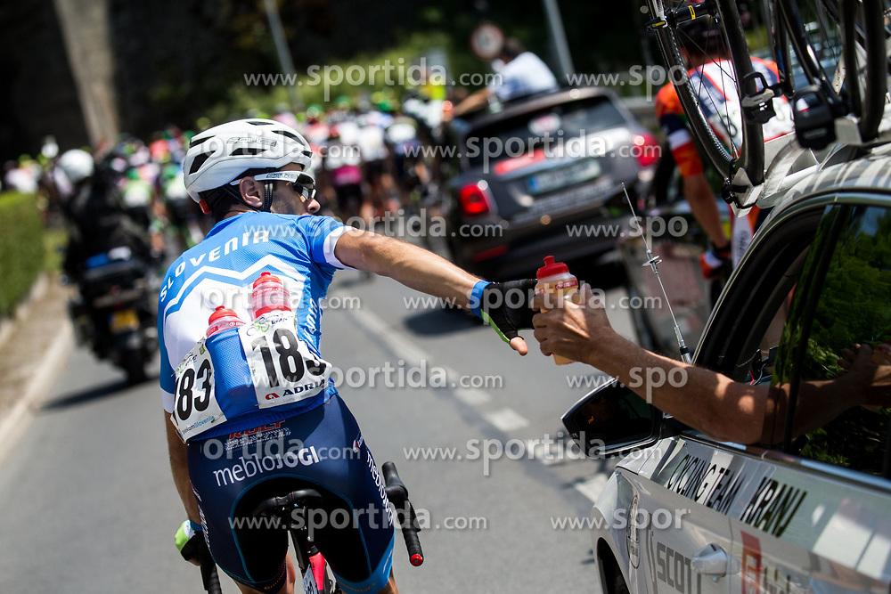Marko Pavlic (SLO) of Slovenija National Team during Stage 1 of 24th Tour of Slovenia 2017 / Tour de Slovenie from Koper to Kocevje (159,4 km) cycling race on June 15, 2017 in Slovenia. Photo by Vid Ponikvar / Sportida