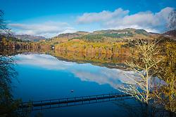 Loch Fiskally Autumnal Reflections.<br /> Neil Bain | EEm 4th November 2017