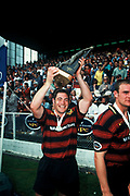 Mark Hammett <br /> Canterbury vs Counties Manukau <br /> NPC Final 1997<br /> Lancaster Park, Christchurch, New Zealand<br /> Copyright: photo, Joanna Caird / www.photosport.nz