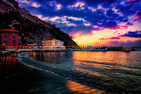 """Transcendent sunset of Marina Grande - Sorrento""...<br />
