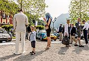 Como, Italy, Concorso d'Eleganza Villa D'Este, from left Porsche Carrera GTS and Ferrari 250 GTO , Modena