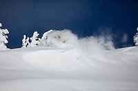 Powder skiing on the NW Traverse is as good as it gets!!!!!