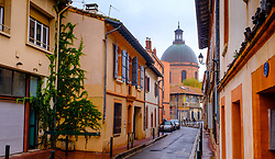 Looking towards the Chapelle Saint-Joseph de la Grave, Toulouse, France<br /> <br /> (c) Andrew Wilson | Edinburgh Elite media