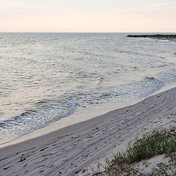 August 4, 2017 - Tangier Island, VA - Bayside Beach on Tangier Island has lost a significant portion of its landmass.<br />  Photo by Susana Raab/Institute