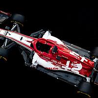 19.02.2020, Circuit de Catalunya, Barcelona, Formel 1 Testfahrten 2020 in Barcelona<br />  , im Bild<br /> Vorstellung des neuen Alfa Romeo Racing Orlen C39 mit den Fahrern Kimi Raikkonen (FIN#7), Alfa Romeo Racing und Antonio Giovinazzi (ITA#99), Alfa Romeo Racing<br /> <br /> Foto © nordphoto / Bratic