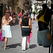 Turiste a Taormina..Tourists in Taormina