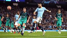 Manchester City v Tottenham Hotspur 18 April 2019
