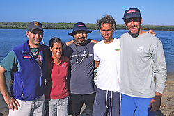 Team Photo J., Louise, Juan, Noah & Hoyt