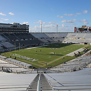 ORLANDO, FL - OCTOBER 14: A general view of the field is seen prior to a NCAA football game between the East Carolina Pirates and the UCF Knights at Spectrum Stadium on October 14, 2017 in Orlando, Florida. (Photo by Alex Menendez/Getty Images)