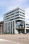 Modern architecture Stadhuis city hall building, Amersfoort, Netherlands