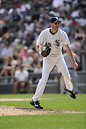 CHICAGO - JULY 27:  Chris Sale #49 of the Chicago White Sox pitches against Detroit Tigers on July 27, 2011 at U.S. Cellular Field in Chicago, Illinois.  The White Sox defeated the Tigers 2-1.  (Photo by Ron Vesely)  Subject: Chris Sale