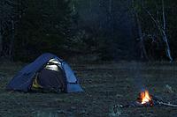 Friluftsliv: Helsport Gimle 4 - tent, camping