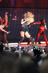 EDITORIAL USE ONLY Taylor Swift on stage as she opens her Reputation stadium tour at the Eitihad Stadium, Manchester.
