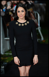 Nov. 11, 2013 - London, United Kingdom - Meghan Markle arrives for The Hunger Games: Catching Fire premiere, Leicester Square, London, United Kingdom. Monday, 11th November 2013. Picture by Andrew Parsons / i-Images (Credit Image: © Andrew Parsons/i-Images/ZUMAPRESS.com)