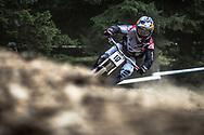 Aaron Gwinn (USA) at the 2018 UCI MTB World Championships - Lenzerheide, Switzerland