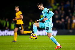 Florian Lejeune of Newcastle United - Mandatory by-line: Robbie Stephenson/JMP - 11/02/2019 - FOOTBALL - Molineux - Wolverhampton, England - Wolverhampton Wanderers v Newcastle United - Premier League