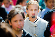 Wellington, NZ. 11 September 2017. Māori Language Week procession. Photo credit: Stephen A'Court.  COPYRIGHT ©Stephen A'Court