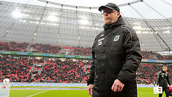 30.01.2016, BayArena, Leverkusen, GER, 1. FBL, Bayer 04 Leverkusen vs Hannover 96, 19. Runde, im Bild Thomas Schaaf (Trainer, Hannover 96) // during the German Bundesliga 19th round match between Bayer 04 Leverkusen and Hannover 96 at the BayArena in Leverkusen, Germany on 2016/01/30. EXPA Pictures © 2016, PhotoCredit: EXPA/ Eibner-Pressefoto/ Deutzmann<br /> <br /> *****ATTENTION - OUT of GER*****