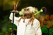 April 28, 2017: Lil Wayne performs at the South Side Ballroom for his Kloser 2 U tour in Dallas, TX