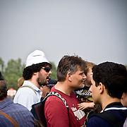 Il Papa Benedetto XVI al VII° Incontro Mondiale delle Famiglie al campo volo di Bresso...Pope Benedict XVI at the world meeting of families at the Bresso airport.